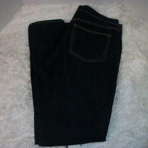 """Old Navy """"The Flirt"""" Dark Wash Jeans Plus Sz 14"""